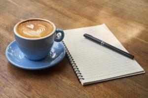 コーヒーと日記
